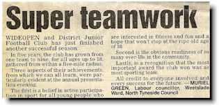 News Story from the Evening Chronicle